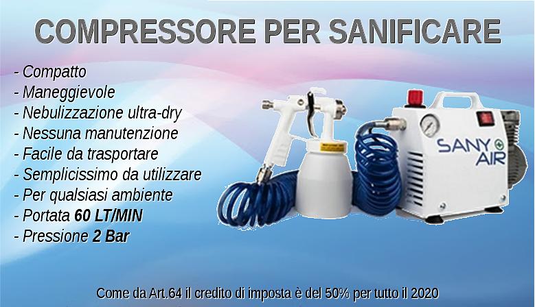 Compressore per Sanificare SANY AIR